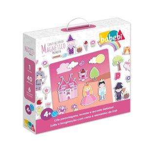 Caixa do Brinquedo Educativo Quadro Magnético Princesa