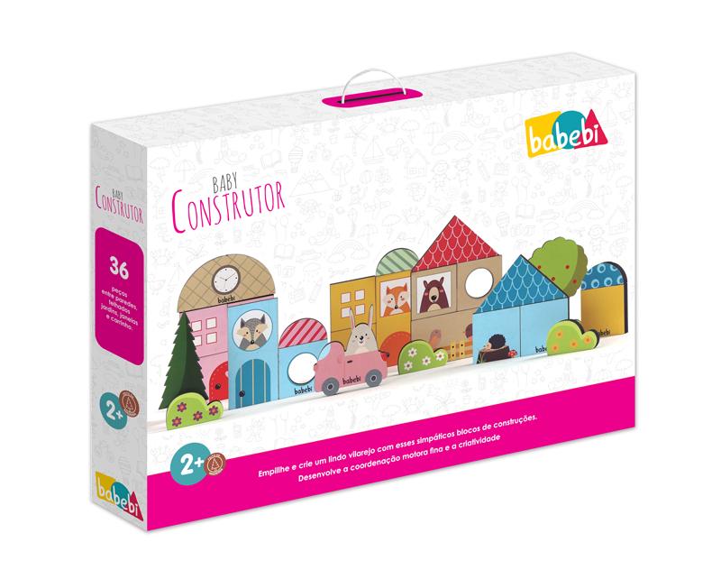 Caixa do Brinquedo Educativo Baby Construtor