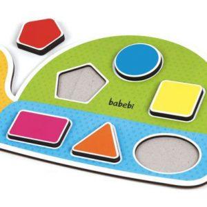 Brinquedo Educativo Encaixa Figuras da Tartaruga