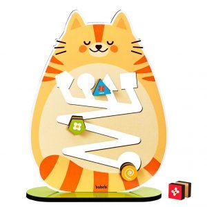 Rolando figuras com o gatinho