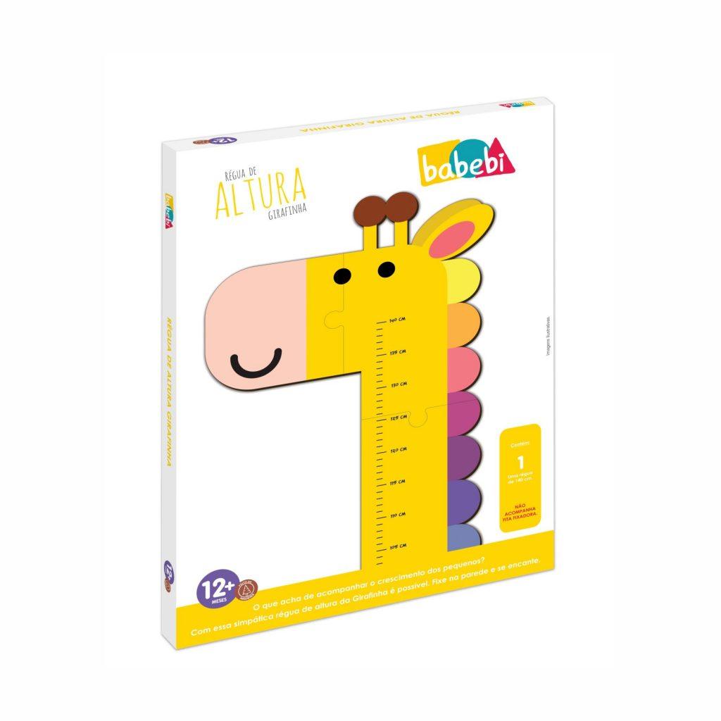 Embalagem da Régua de Altura Girafinha