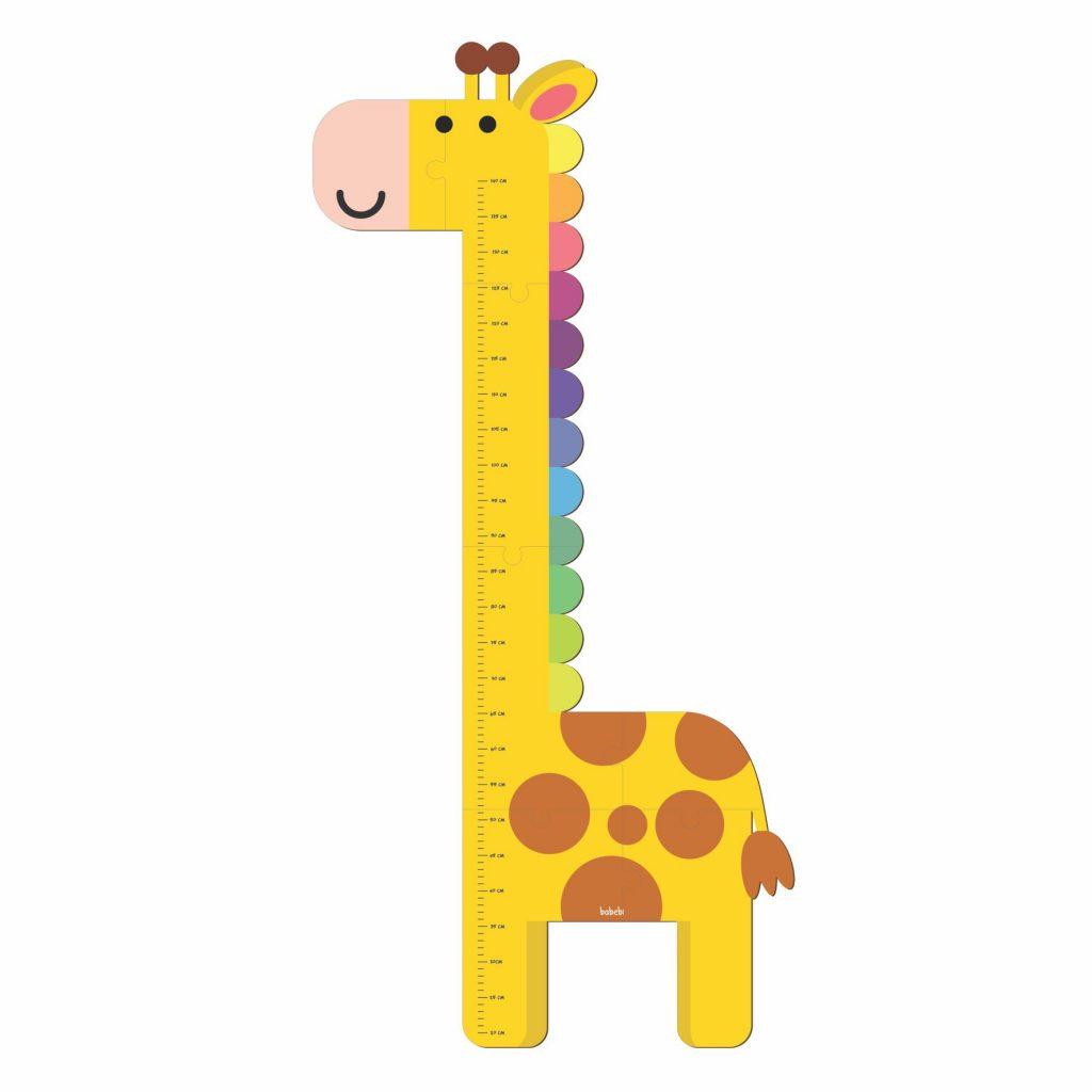 Régua de Altura Girafinha completa