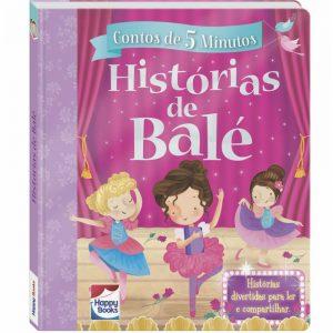 Livro Contos de 5 Minutos - Histórias de Bale
