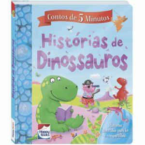 Livro Contos de 5 Minutos - Histórias de Dinossauros