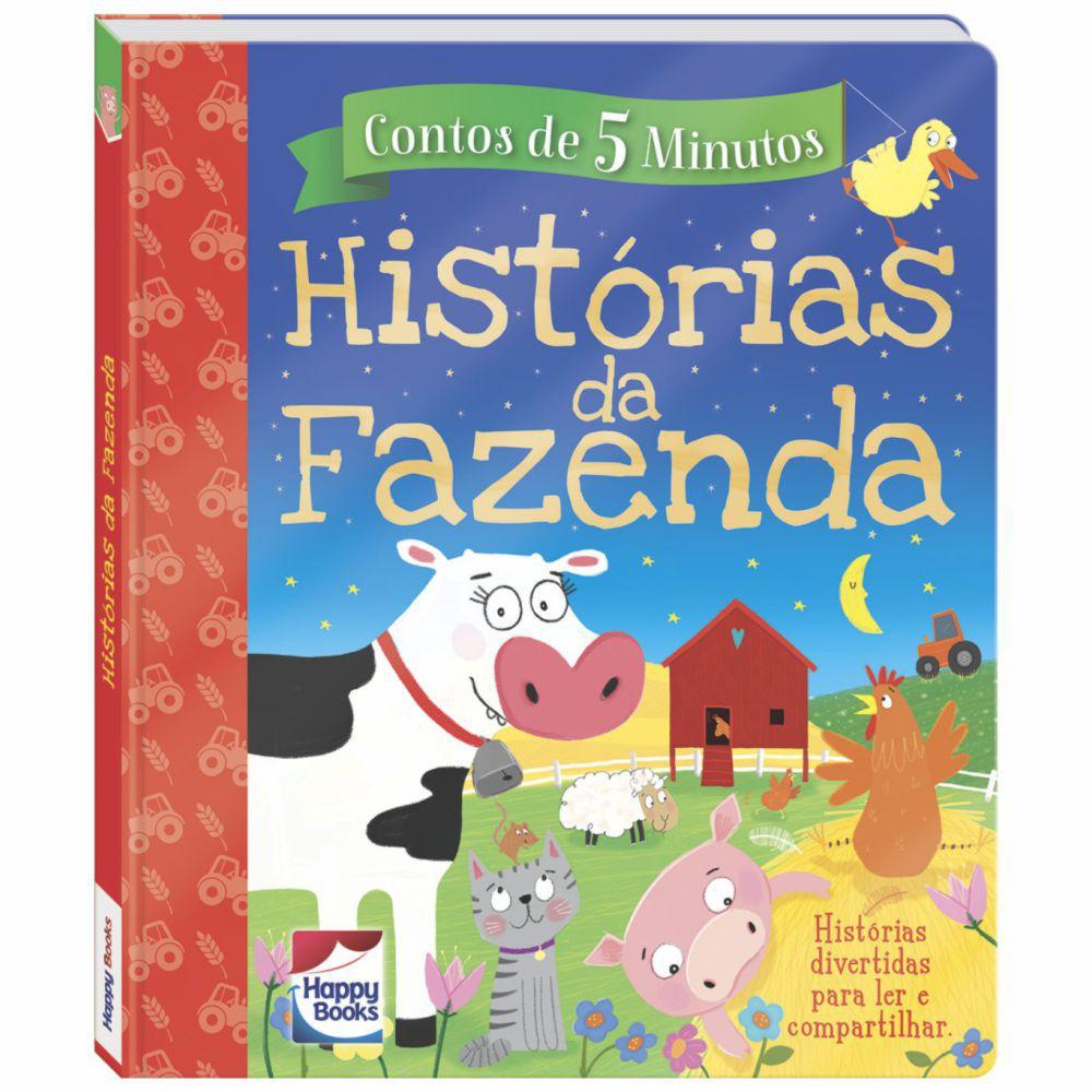 Livro Contos de 5 Minutos - Histórias da Fazenda