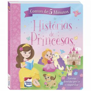 Livro Contos de 5 Minutos - Histórias de Princesas