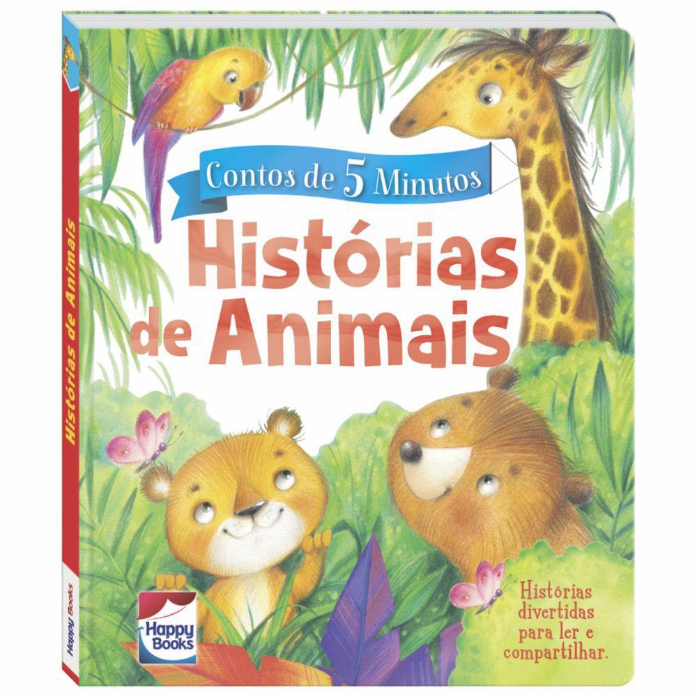 Livro Contos de 5 Minutos - Histórias de Animais