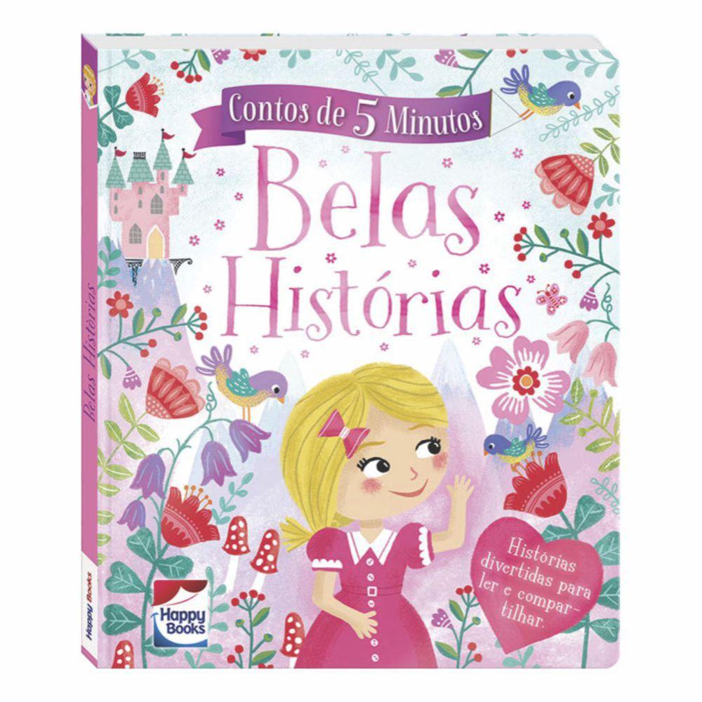 Livro Contos de 5 Minutos - Belas Histórias