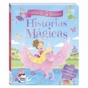 Livro Contos de 5 Minutos - Historias Magicas