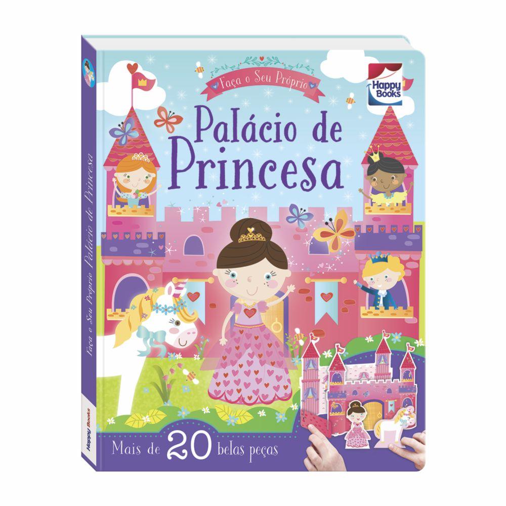 Livro Faça e Brinque Faça o Seu Próprio Palácio de Princesa