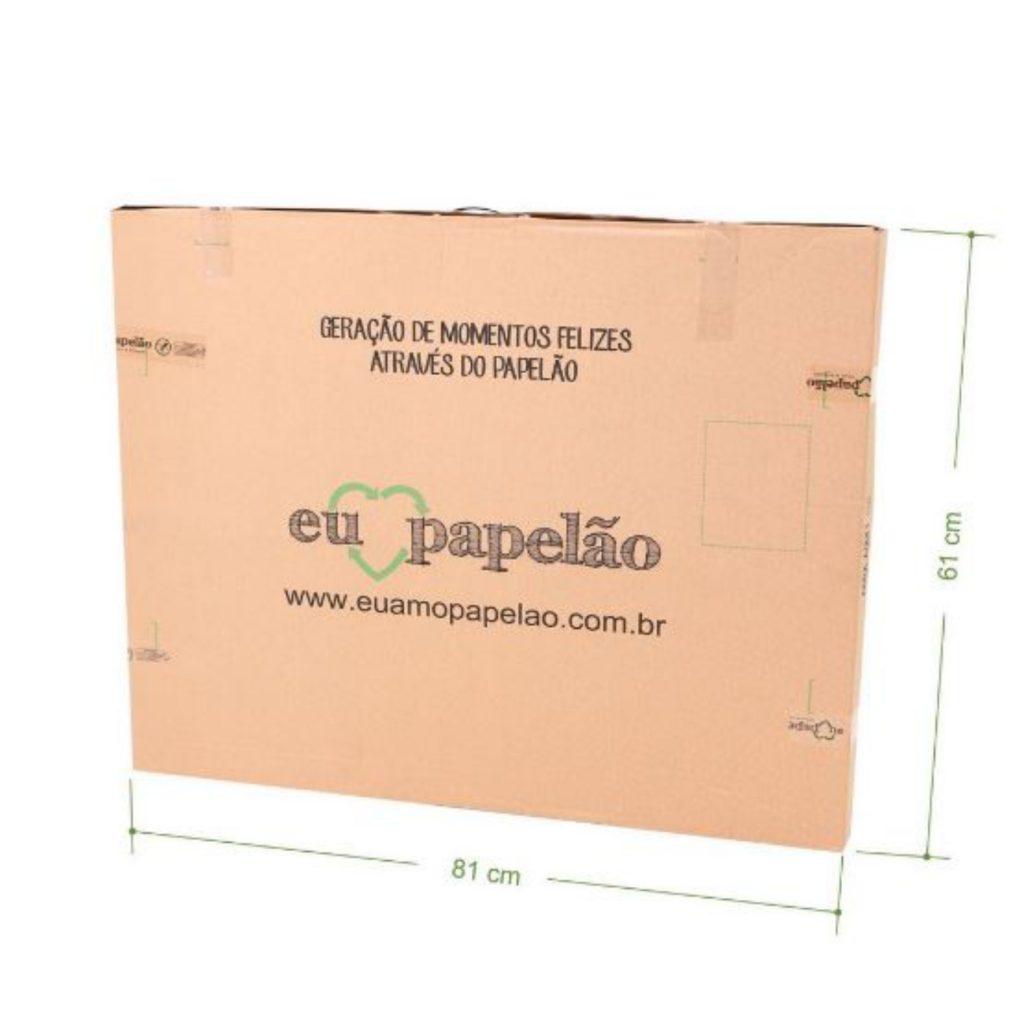 Embalagem do avião de papelão