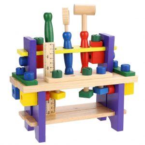 Bancadinha de ferramentas infantil 41 peças