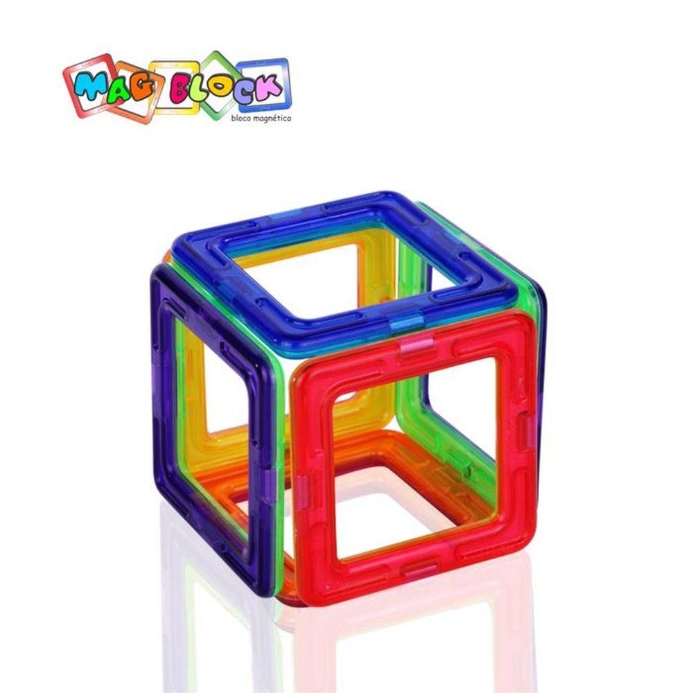 Blocos Magnéticos 35 peças Mag Block modelo 2