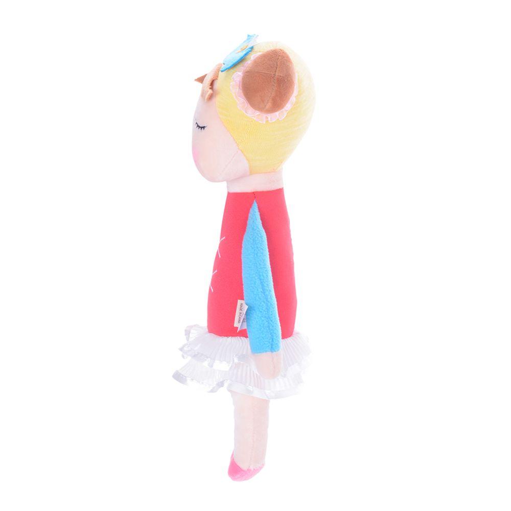 Boneca Metoo Angela Bailarina Vermelha de perfil esquerdo