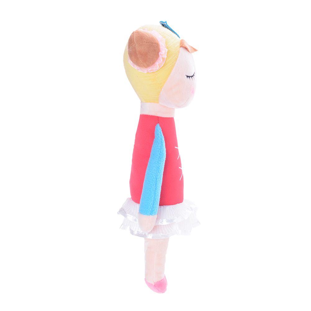 Boneca Metoo Angela Bailarina Vermelha de perfil direito