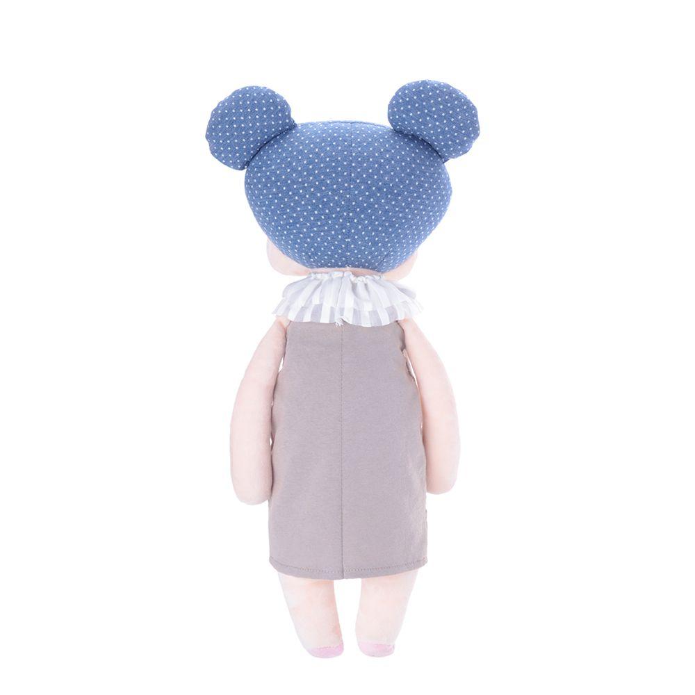 Boneca Metoo Angela Doceira Retro Bear Azul de costas