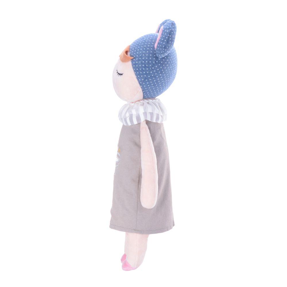 Boneca Metoo Angela Doceira Retro Bear Azul de perfil esquerdo