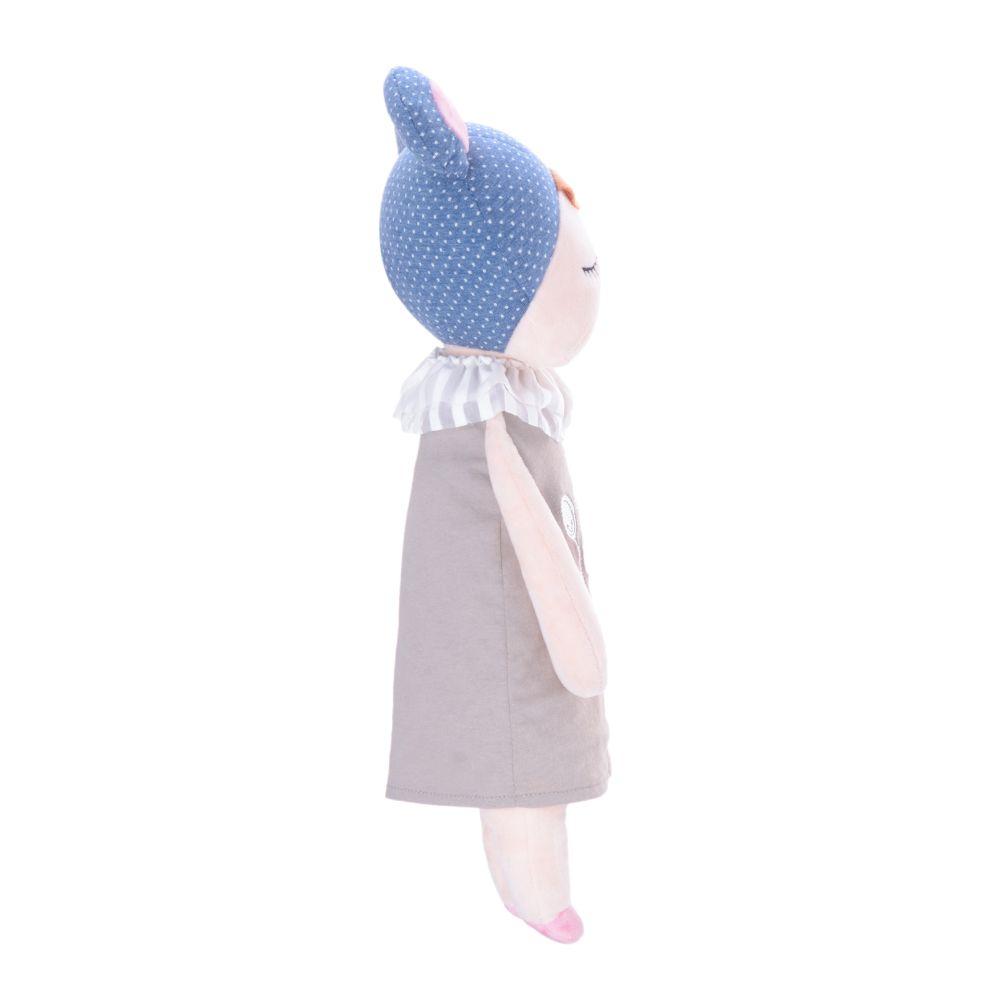 Boneca Metoo Angela Doceira Retro Bear Azul de perfil direito