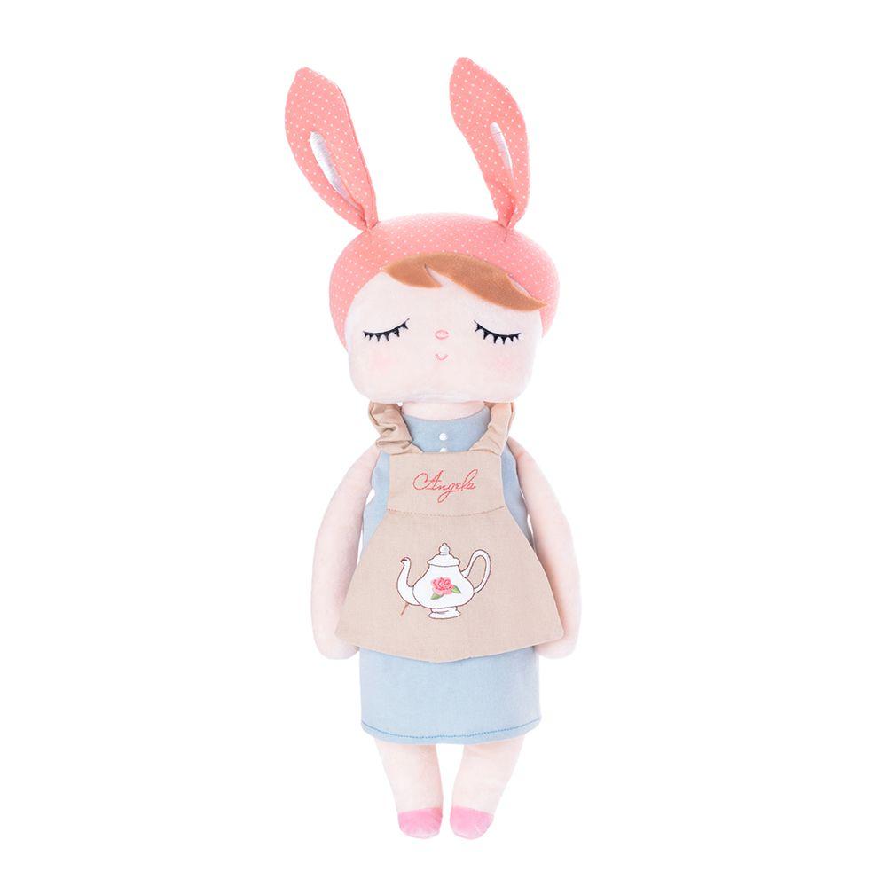 Boneca Metoo Angela Doceira Retro Bunny Rosa de frente