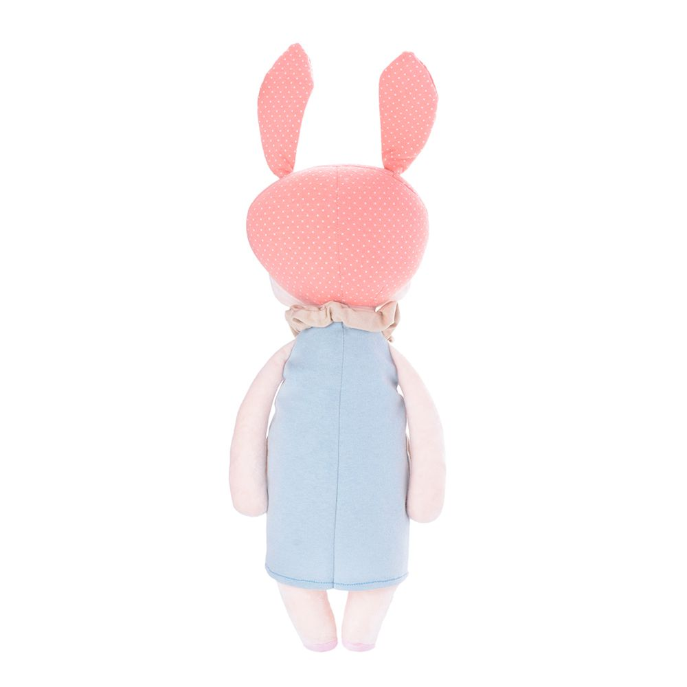 Boneca Metoo Angela Doceira Retro Bunny Rosa de costas