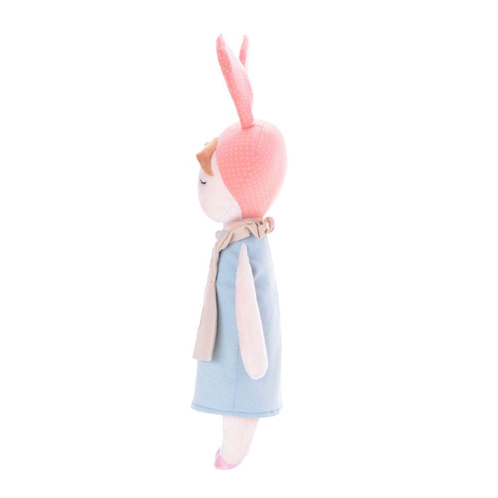 Boneca Metoo Angela Doceira Retro Bunny Rosa de perfil esquerdo