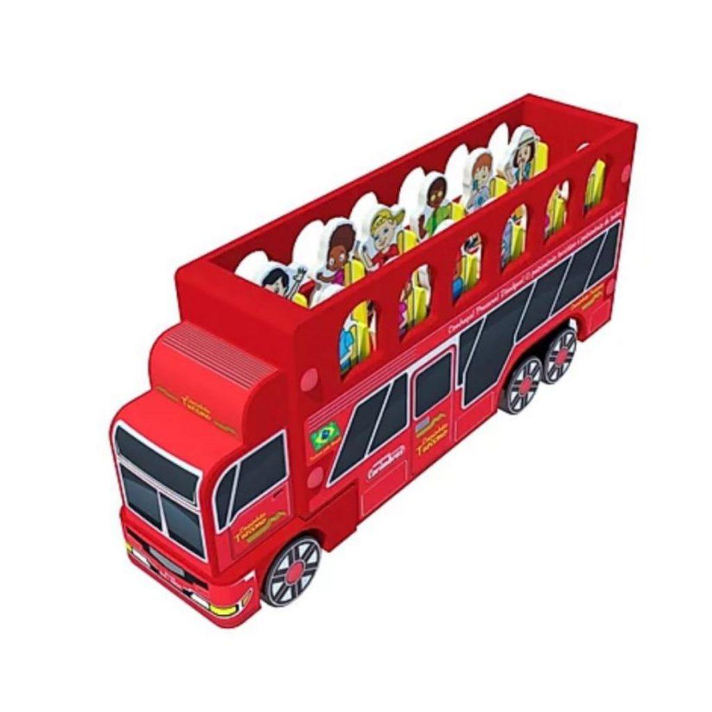 caminhão turismo perfil esquerdo