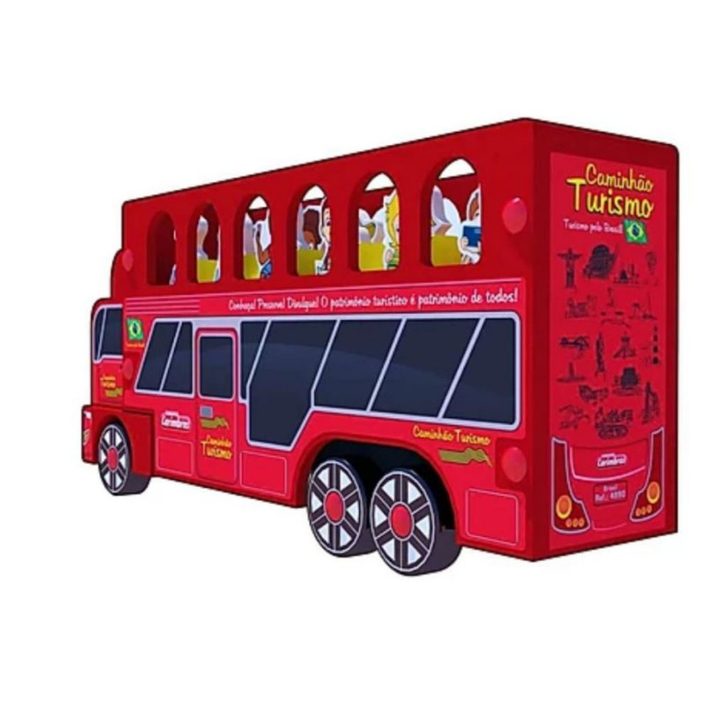caminhão turismo traseira