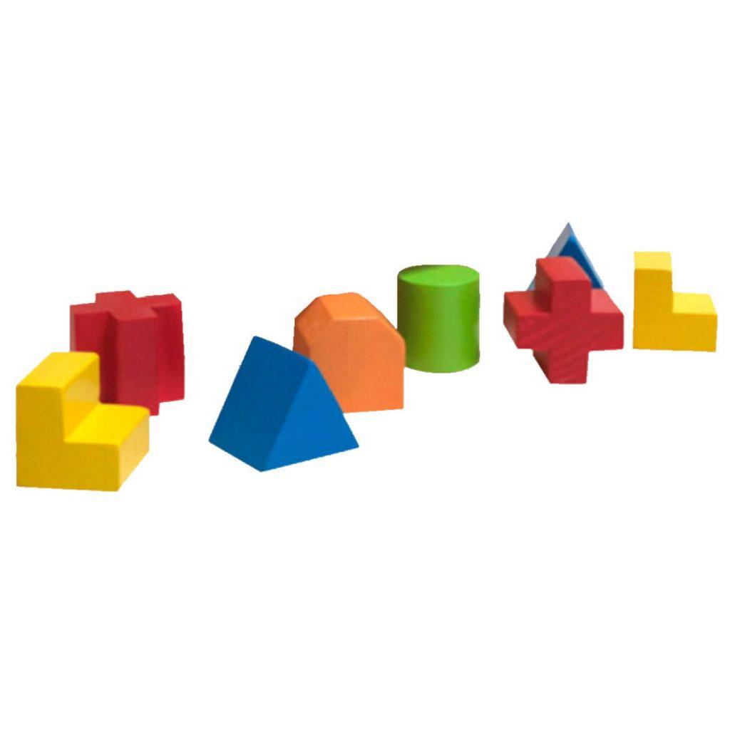 Formas da caixa passa formas