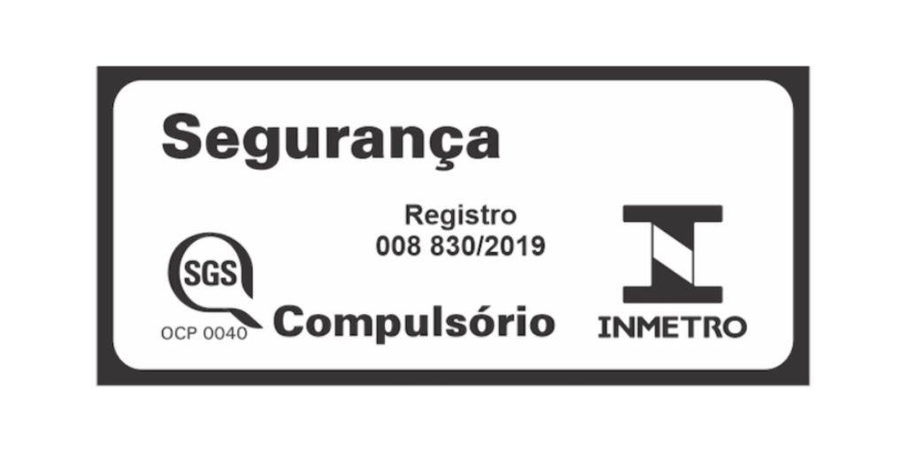 Selo de segurança do Inmetro