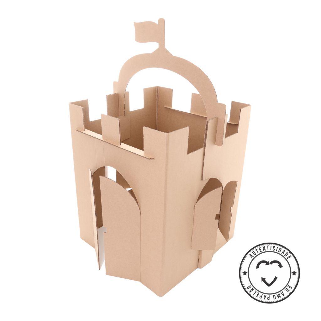 Selo do castelo de papelão