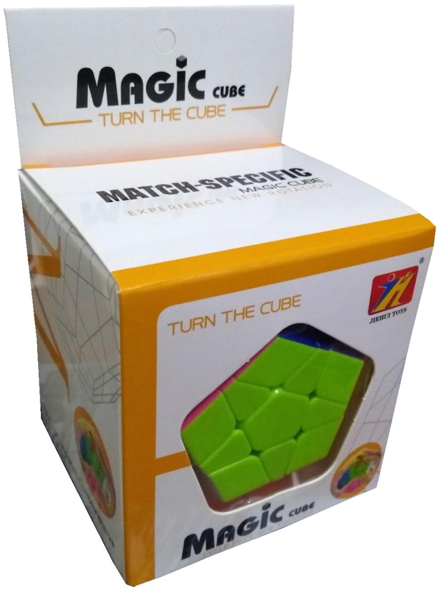 Cubo mágico Hexagonal na caixinha