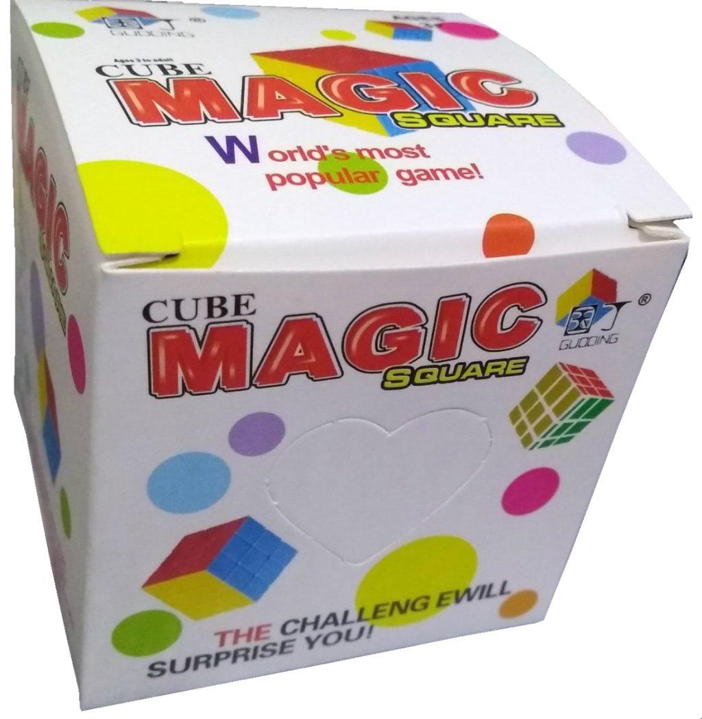 Cubo Mágico 3x3 na caixinha