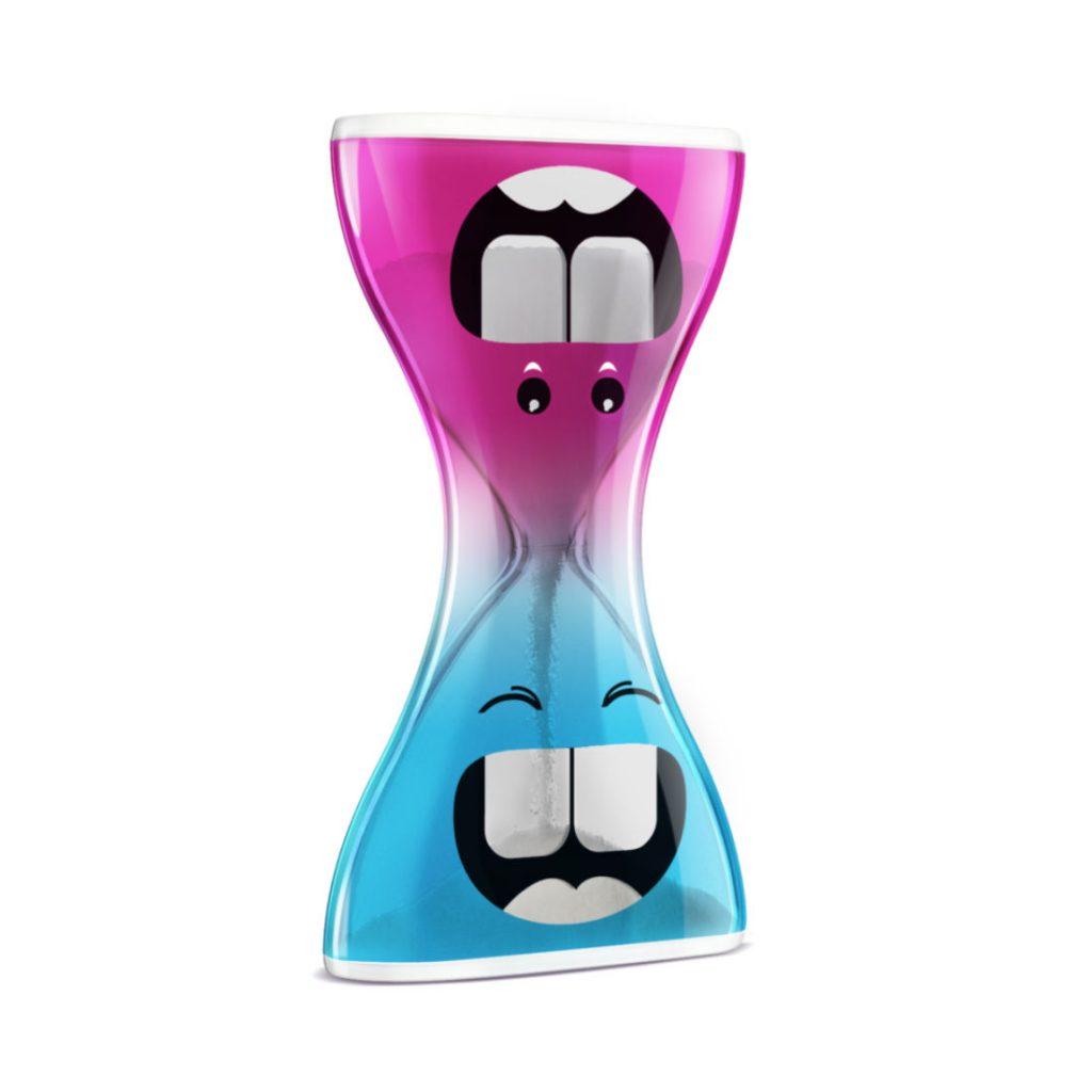 ampulheta divertida - dental timer