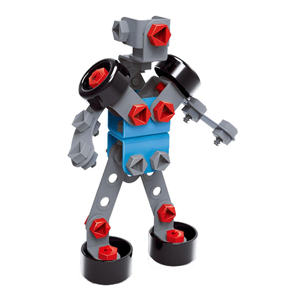 Avião 2 em 1 Faça você mesmo modelo robô