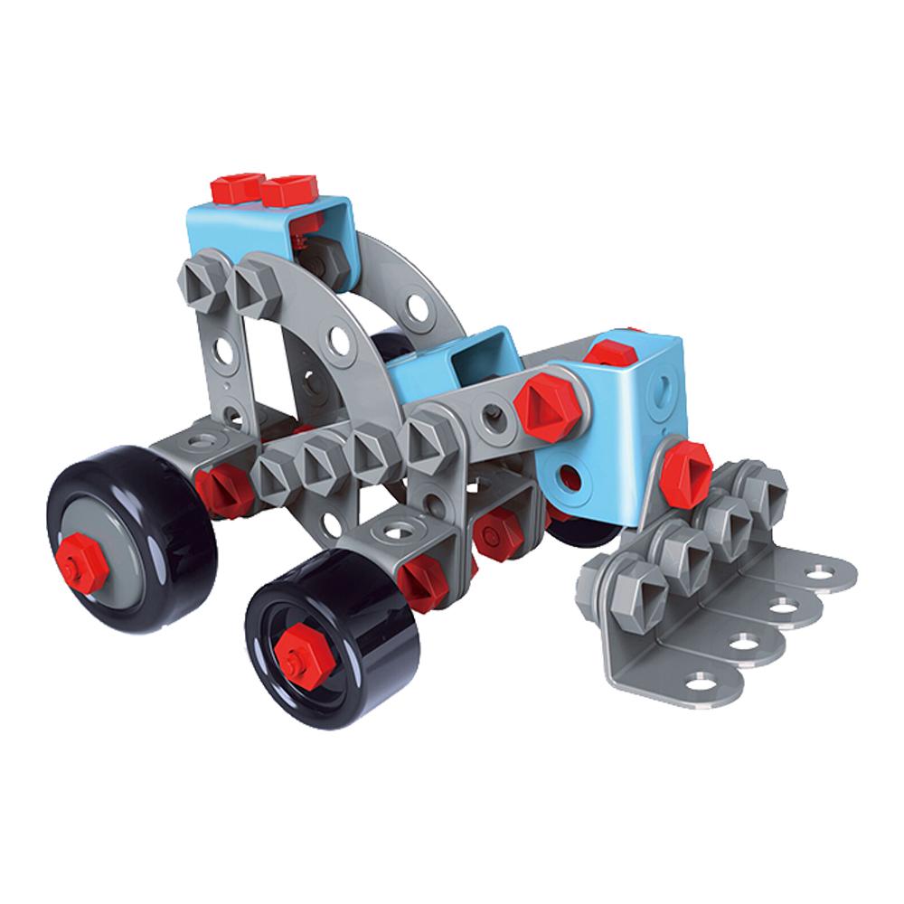 Caminhão construção 2 em 1 faça você mesmo modelo 2