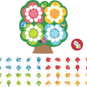 Jogo da árvore peças