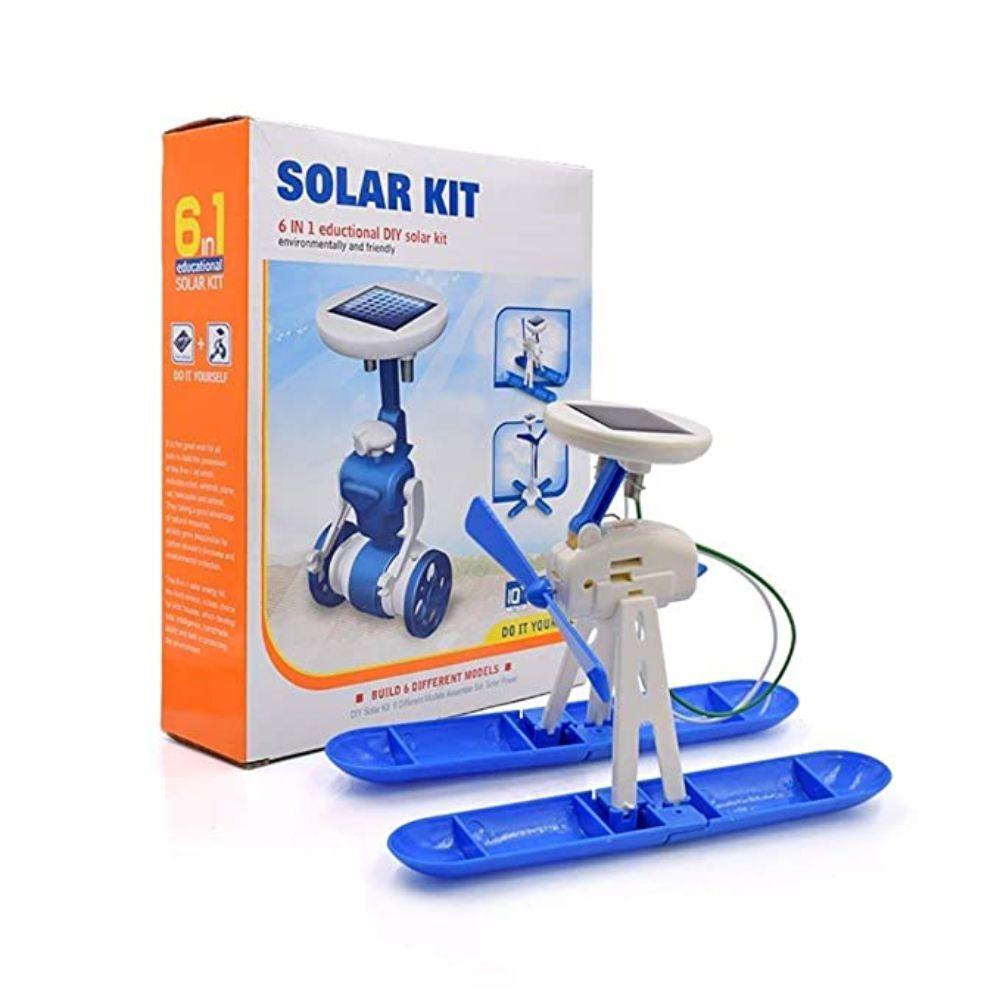 Embalagem mais moledo do Kit Robótica Solar 6 em 1