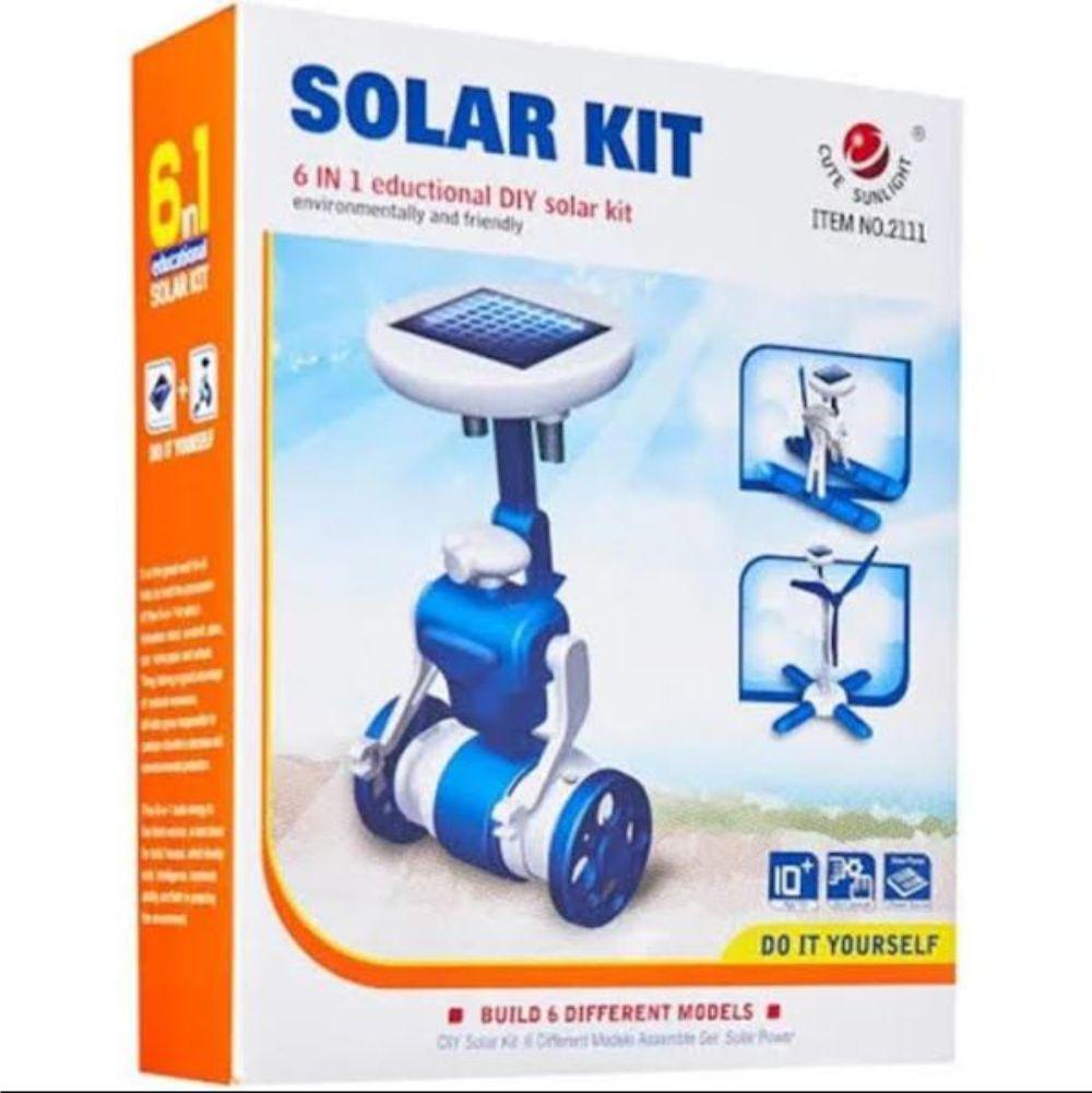 Embalagem do Kit Robótica Solar 6 em 1
