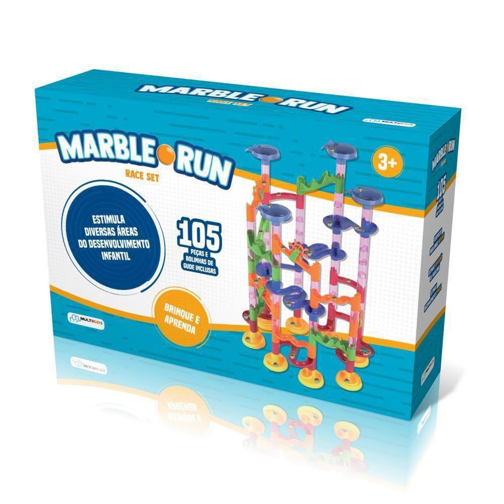 Rola Bolinha Labirinto Marble Run Race Set caixa