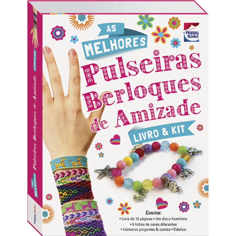 Livro & Kit As melhores pulseiras berloques de amizade