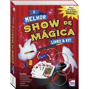Livro & Kit O melhor show de mágica