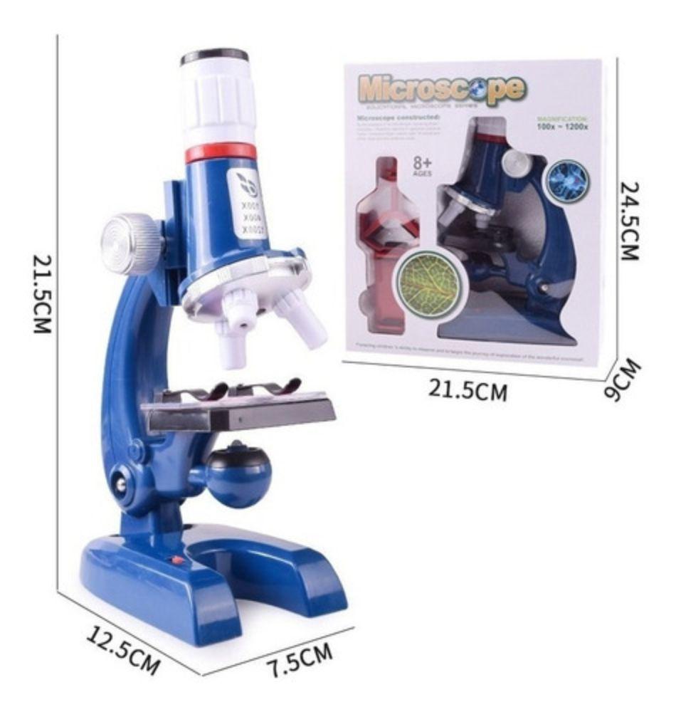 Medidas do Microscópio Smart Infantil