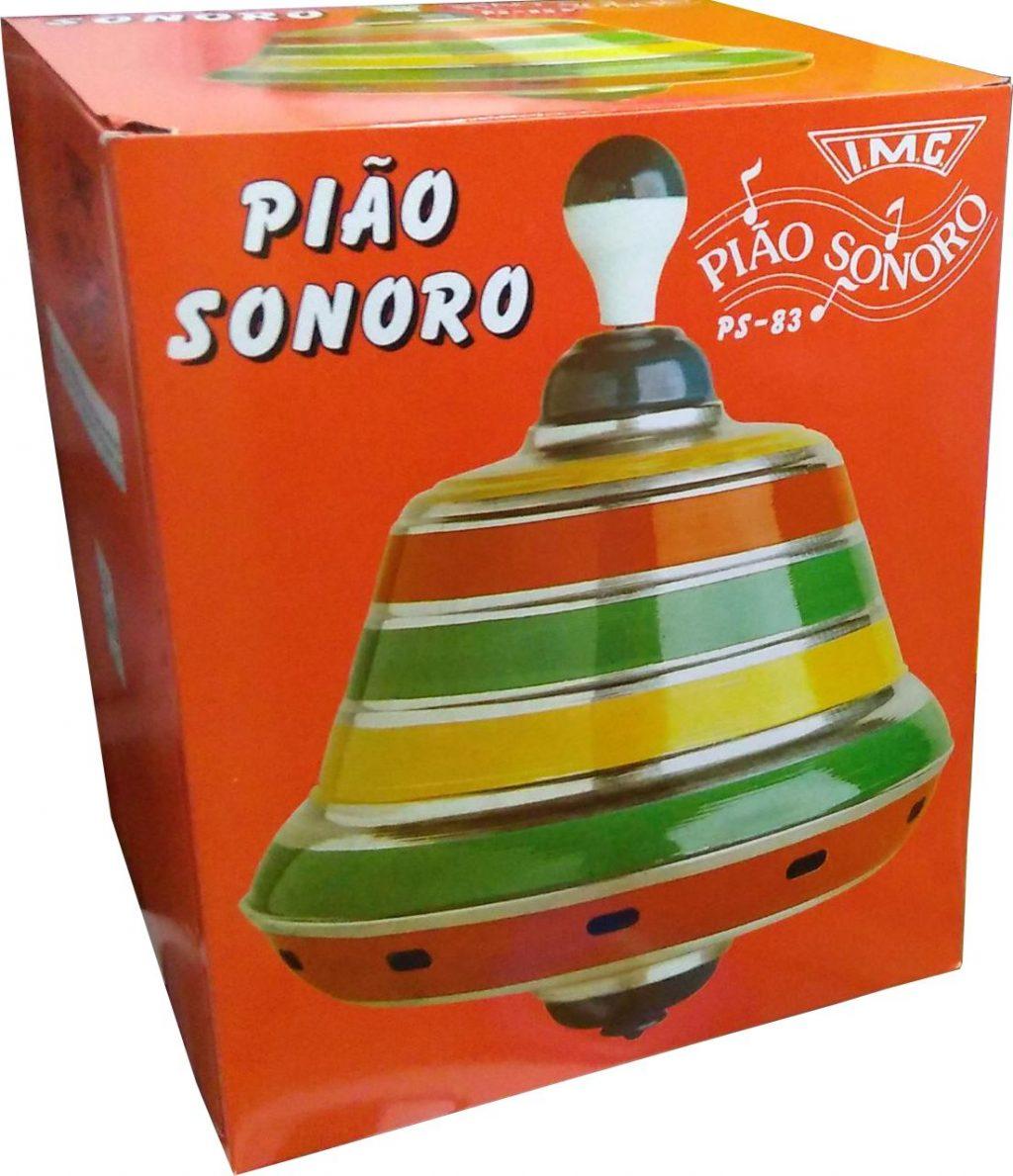 Embalagem do Pião Sonoro Grande