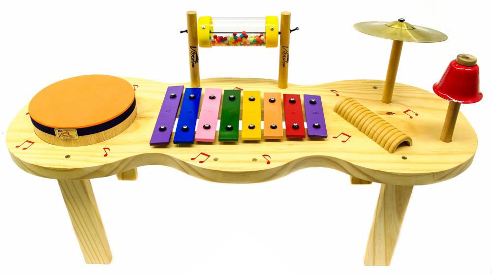Brinquedo Educativo Pequena Percussão Infantil