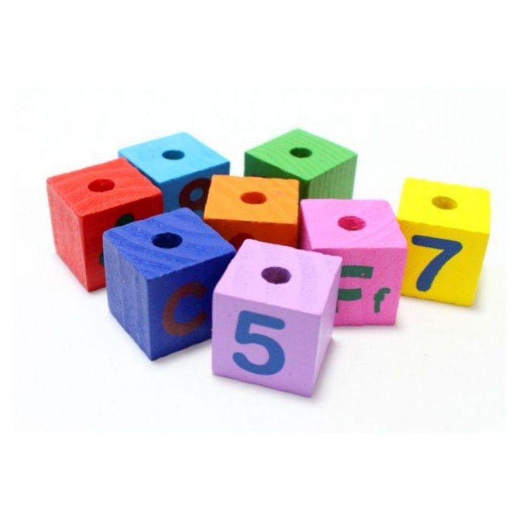 blocos do Trem com blocos educativos 11 peças