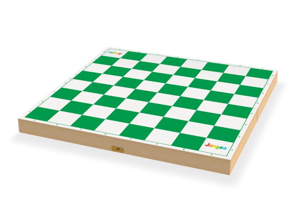 tabuleiro do jogo de xadrez oficial aberto