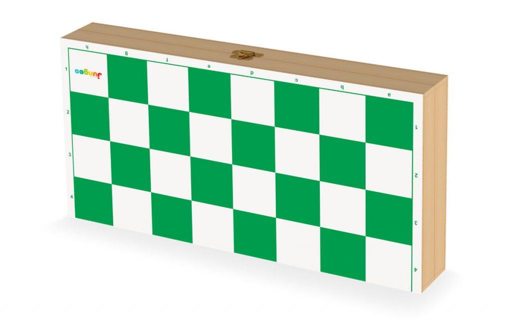 tabuleiro do jogo de xadrez oficial fechado