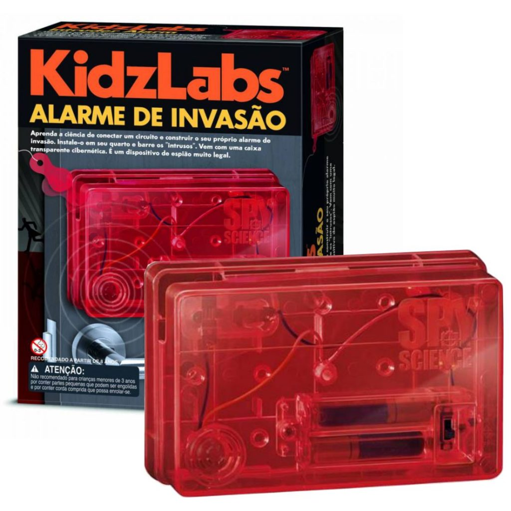 Embalagem do kit mais alarme montado