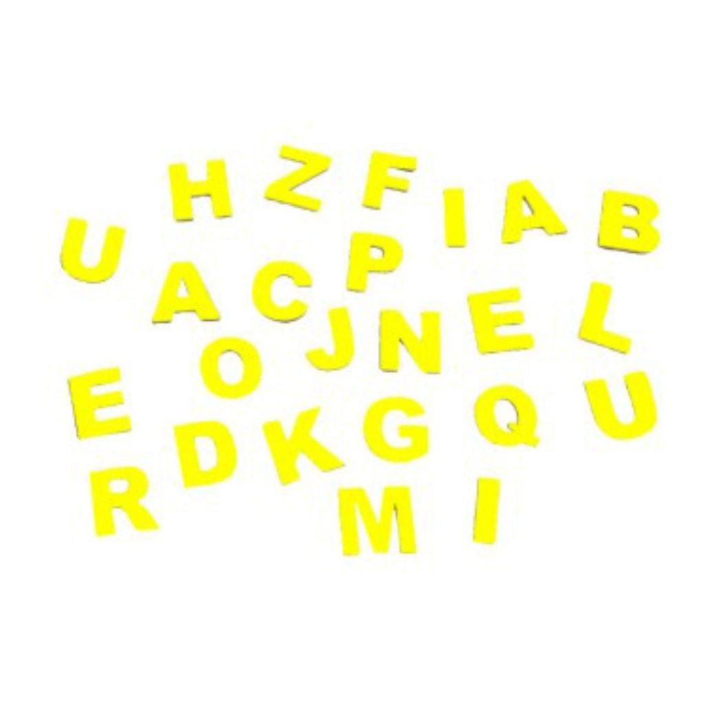 letras do alfabeto magnético