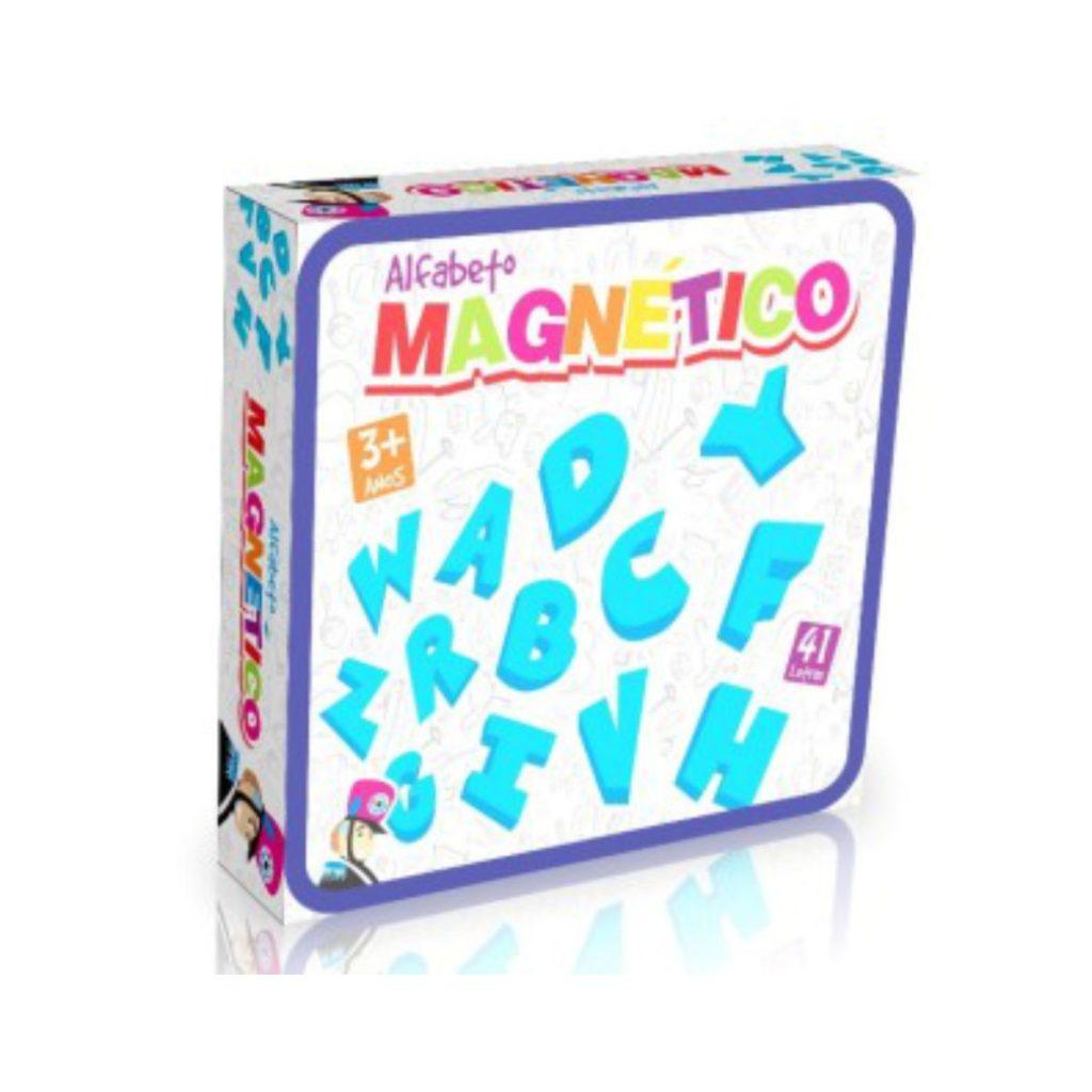 embalagem do alfabeto magnético